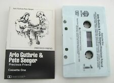 Arlo Guthrie and Pete Seeger Precious Friend Cassette Tape Vintage 1982 Rock