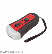 3 Super Bright LED Torch FM Radio Frequency Pocket Size Mechanic DIY Flashlight