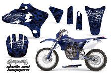 Dirt Bike Graphics Kit Decal Wrap For Yamaha WR250 WR450F 2005-2006 HISH BLUE
