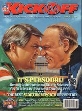 Kick Off Magazine NFL 1996 Jimmy Johnson Barry Switzer 080417nonjhe
