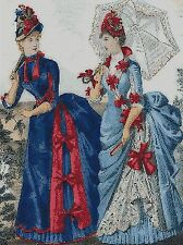 VICTORIAN LADIES - CROSS STITCH KIT
