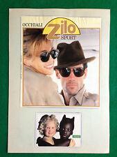 OG7 Pubblicità Advertising Werbung Clipping - ZILO SPORT OCCHIALI SUNGLASS