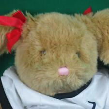 BIG BUILD A BEAR SOCCER PLAYER GIRL W BALL JERSEY SHORTS KNEEPADS PLUSH RABBIT