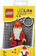 "LEGO Babbo Natale-Babbo Natale Chiave-Catena LED Torcia Grande Regalo Nuovo Di Zecca 3"" Babbo Natale"