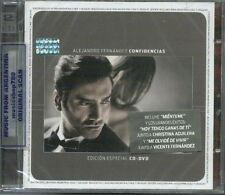 CD + DVD SET ALEJANDRO FERNANDEZ CONFIDENCIAS EDICION ESPECIAL SEALED NEW 2013