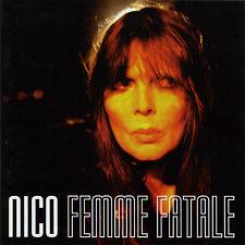 NICO 'Femme Fatale' CD Martin Hannett Velvet Underground studio & live; sealed