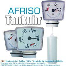 Afriso Füllstandsanzeige für Regenwasserzysterne Heizöltank Tankuhr Wassertank