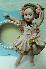 Madame Alexander Classic Collectibles Ballerina Girl Figurine Mini Frame new