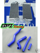 radiator + hose Suzuki RM125 RM 125 01-08 2001 2002 2003 2004 2005 2006 2007 02