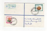 New Zealand Registered Cover R No.278 Walker St 24 Apr 1981 999b