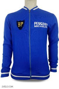 PEUGEOT BP vintage wool long sleeve jersey, new, never worn L