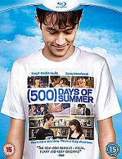 (500) Days of Summer [Blu-ray], Excellent DVD, Matthew Gray Gubler, Chloe Moretz