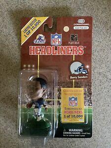 1997 NFL Corinthian Headliners Barry Sanders Detroit Lions Action Figure