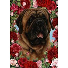 Roses Garden Flag - Red Mastiff 192761