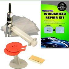 PROFESSIONAL Windshield Repair Kit DIY Auto Glass Resin Wind Screen Chips Cracks