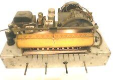 vintage STEWART-WARNER 91-1117 RADIO:  Working Chassis w/ 24 UPDATED CAPACITORS