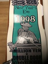 Cheap Trick @ Double Door New Years Eve 1998 Original Poster. *Rare*
