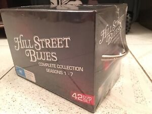 HILL STREET BLUES DVD COMPLETE COLLECTION SEASONS 1-7 METAL BOXSET NEW SEALED