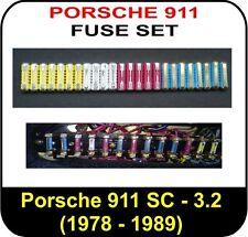 car fuses fuse boxes for porsche full fuse set for porsche 911 1978 1989 sc 3 0 3 2 carrera turbo fusebox fits porsche