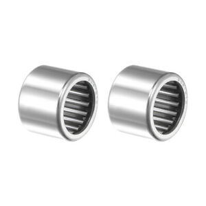 """3/4"""" Bore Needle Roller Bearings, Drawn Cup Open End SCE1212 2 Pack"""