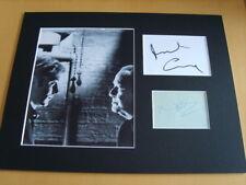 The Italian Job Michael Caine & Noel Coward Genuine Autographs - UACC /AFTAL