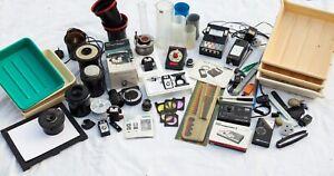 Large Job Lot of Darkroom Equipment.  Durst, Jobo, Paterson, Melico, Untested.