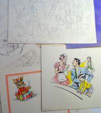 1st Edition Original Comic Art