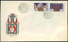 Czechoslovakia 1974 Brno Stamp Exh. FDC First Day Covers #C19661