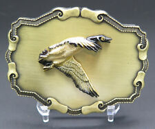 Canada Canadian Goose Waterfowl Bird Raintree Vintage Belt Buckle