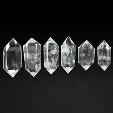 Fashion 100% Natural Rock Clear Quartz Crystal DT Wand Point Healing