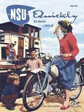 NSU Quickly - Alle Modelle + Quick 50