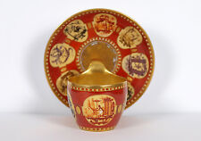 KPM Berlin Chinoserie Decor Cup and Saucer Circa 1805