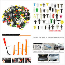 440x Mixed Auto Fastener Clips Retainer Rivet Car Bumper Door Panel Fender+Tools