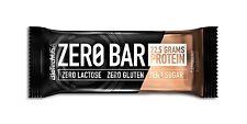 `biotech USA Zero bar Riegel 10 X 50 G Cappuccino