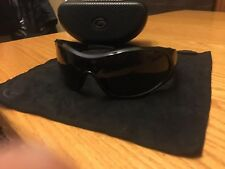 gargoyles sunglasses black with hard case and cleaning cloth