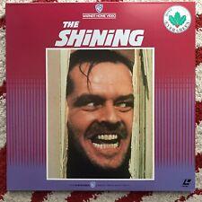 The Shining Stanley Kubrick Laserdisc Japan release NTSC CLV Gatefold Jacket obi