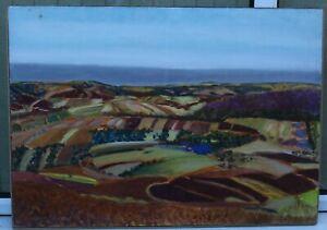 IMPORTANT LANDSCAPE BY MARGARET HARMSWORTH - IMPORTANT BRITISH ARTIST