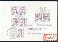 Berlin Mi.-Nr. 788 / Paar als Mehrfrankatur - MeF - FDC per Einschreiben
