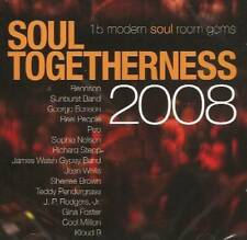 SOUL TOGETHERNESS 2008 Various Artists NEW & SEALED MODERN SOUL CD (EXPANSION)