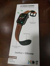 GENUINE NEXT Sport Band Straps for Apple Watch 42/44MM Leather Silicone 18L10A