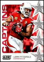 2019 Score Captains NFL Football Card Singles You Pick Buy 4 Get 2 FREE