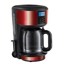 Russell Hobbs 20682 Metallic Red 1.25L Legacy Coffee Maker - Brand New