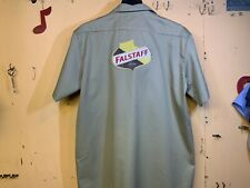 FALSTAFF BEER DELIVERY GUY WORK SHIRT DICKIES XL 🍺🍺🍺🍺🍺🍺🍺🍺