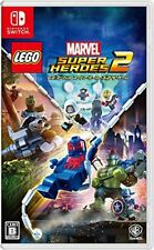 NEW Nintendo Switch Lego ? Marvel Super Heroes 2 The Game From japan