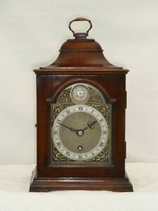 English Smiths Empire Mahogany 264 Bracket Mantle Clock For Repair Spares Parts