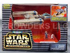 Micro Machines Star Wars Action Fleet YWING STARFIGHTER Blue Leader & R2 NIP '96