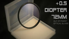 High Quality closeup diopter +0.5 72mm-anamorphot anamorphic Cinemascope