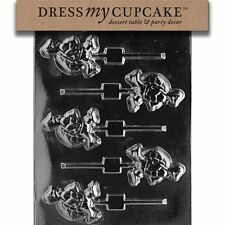 Dress My Cupcake DMCA083 Chocolate Candy Mold Small Turtle Lollipop