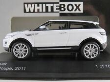 Whitebox wb227 Land Rover Range Rover Evoque Coupe (2011) en blanco 1:43 nuevo/en el embalaje original