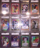 2020 Topps Chrome Robert Refractor Auto, REGAL Mystery VIP,Bichette,Tatis,Trout,